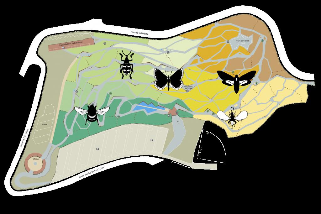 Danza Néctar Ominira mapa